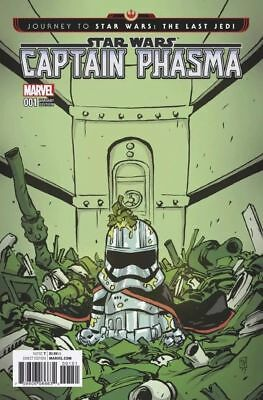 Journey To Star Wars Last Jedi Captain Phasma #1 Young Variant Nm