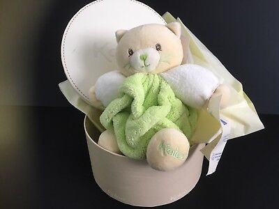 Kaloo Green Plume Bear With Special Keeper Box