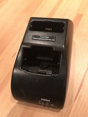 Sepura Twin Battery Charger For SRP/SRH Radios. Used.