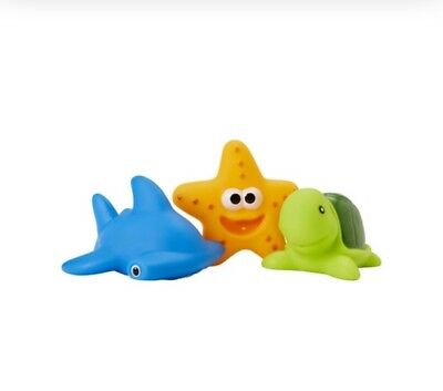 Baby Kids Bath Squirt Toys - Pack Of 3 Sea Creatures