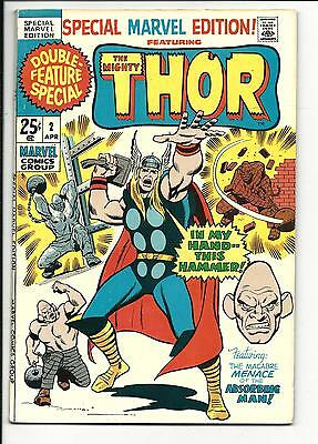 SPECIAL MARVEL EDITION # 2 (classic THOR reprints), VF-