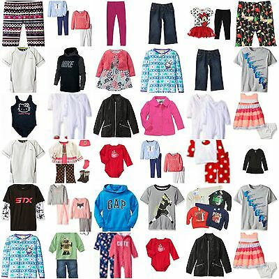 $500RV Kids Wholesale Resale Clothes Lot NWT Gymboree Gap Carters   Boys Girls