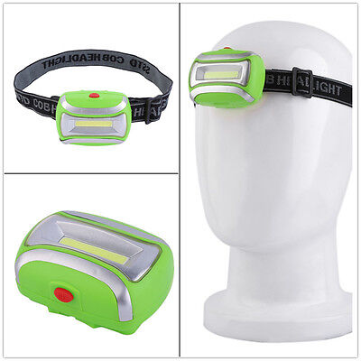 Hiking Headlamp Torch Fishing With Headband LED 3 Modes Lighting Head Lamp