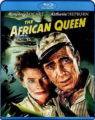 NEW BLU-RAY- HUMPHREY BOGART -  THE AFRICAN QUEEN - Katherine Hepburn