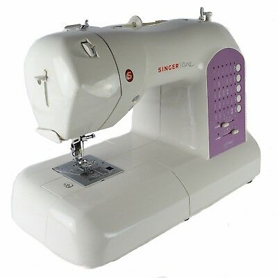 Singer Curvy 8763 Computerized Free-Arm Sewing Machine 30 Built in Stitches