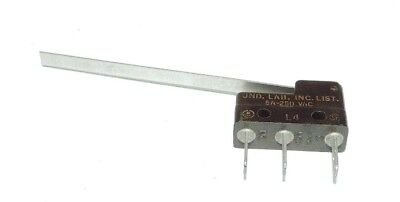 """HONEYWELL 311SM3-H4 Sub-Mini Snap Action Switch 5A 250VAC Snap 2"""" LEVER NO & NC"""