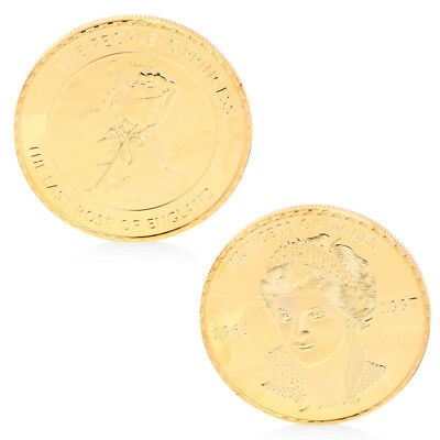 For Remember Diana Princess Wales Commemorative Coin Art Gift Collectible Hot