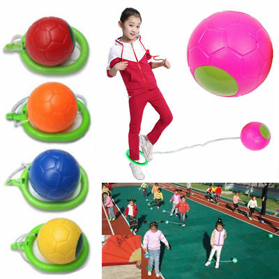 Kids Foot Hula Hoop Ankle Skip Ball Outdoor Toy Rope Skipper Skipping Rope HOT