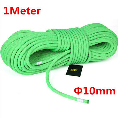 10mm Elastic Bungee Rope Shock Cord Tie Down Outdoor Climbing Roping Ropes Green
