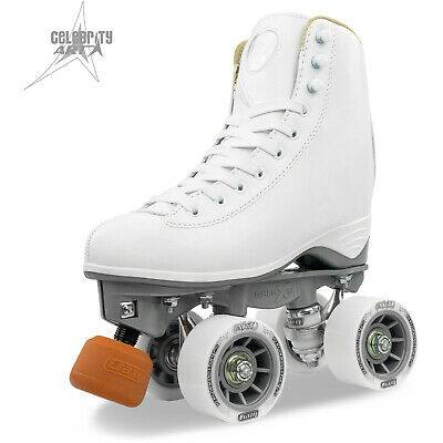 Celebrity ART Classic Hi White Artistic Figure Boot Skates by Crazy Skates