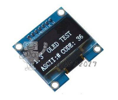 1.3'' White SPI Serial 128X64 OLED LCD Display Screen Module For Arduino UNO R3