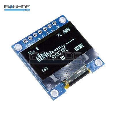 "0.96"" I2C IIC Serial 128X64 White OLED LCD LED Display Module for Arduino 3-5V"
