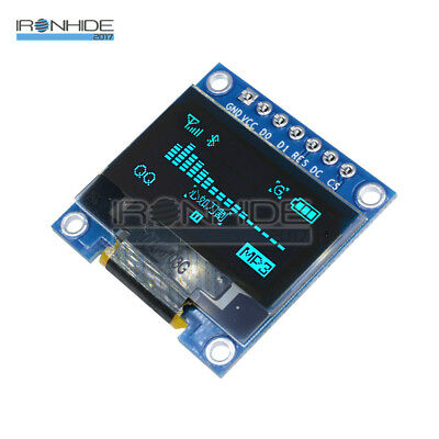 "Blue 0.96"" I2C IIC Serial 128X64 OLED LED Display Module for Arduino 3-5V"