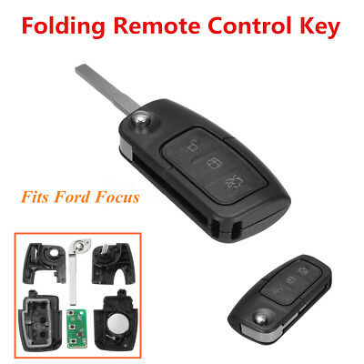 for Ford 3 Button Transponder Remote Flip Key BF FG Falcon Territory Mondeo FPV