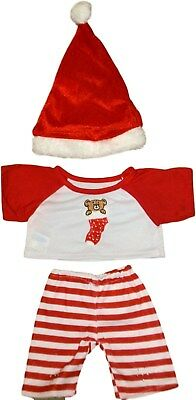 Teddy Clothes fits Build a Bear or similar Christmas Stocking Trousers Outfit
