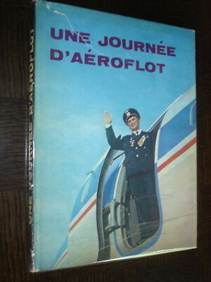 UNE JOURNEE D'AEROFLOT - 1973 - URSS Aéronautique Aviation Russie