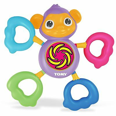 Tomy Grip & Grab Monkey Toddler Toy Gift Baby Activity Musical Development Toy