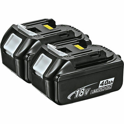 2PCS Makita BL1840B 18V 4.0Ah Rechargeable LXT Lithium-Ion Battery w/ Indicator