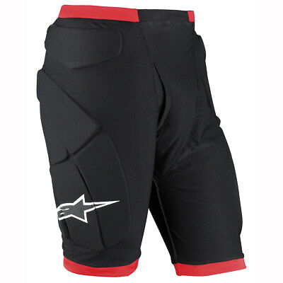Motorcycle Alpinestars Comp Pro Shorts - Black Red UK Seller
