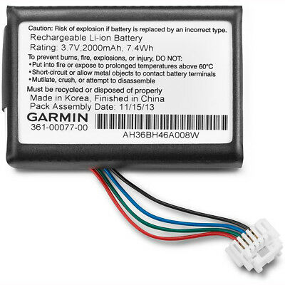 Motorcycle Garmin Zumo 590 Replacement Battery - Black UK Seller