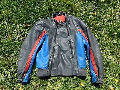 Vintage BMW Motorrad GmBH & Co. Motorcycle Leather Riding Suit Size 42