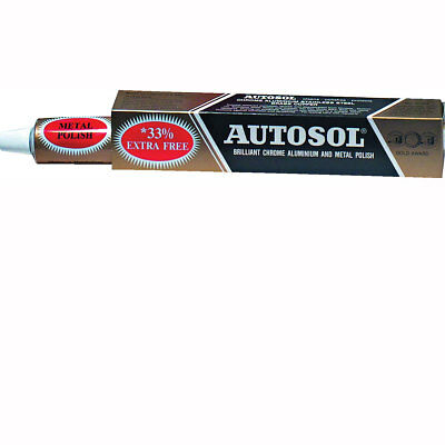 Motorcycle Autosol Chrome Cleaner Paste Tube - 75ml UK Seller