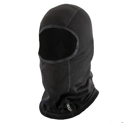 EDZ Merino Wool Thermal Balaclava - Black