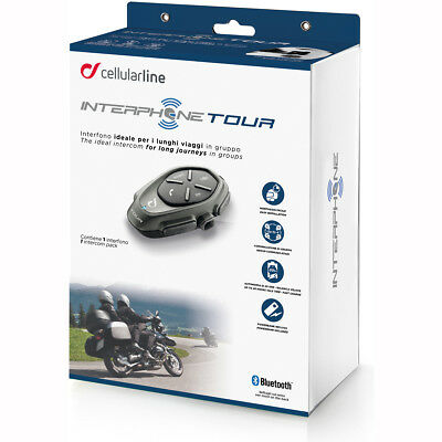 Motorcycle Interphone Tour - Single Pack UK Seller