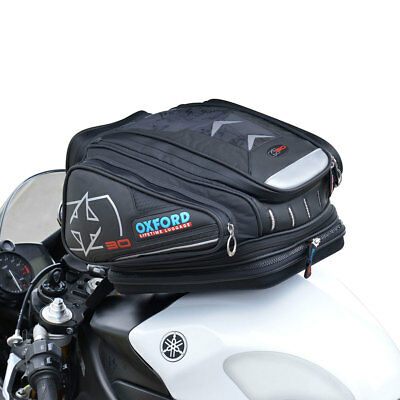 Motorcycle Oxford QR Tankbag - 30L - Black UK Seller