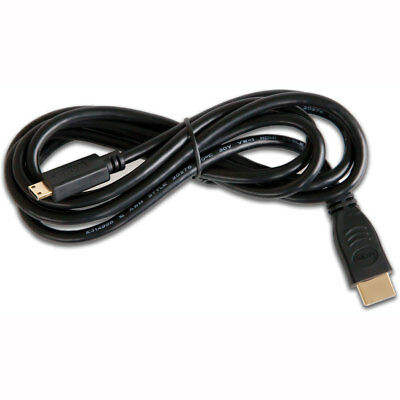 Motorcycle GoPro Micro HDMI Cable Black UK Seller