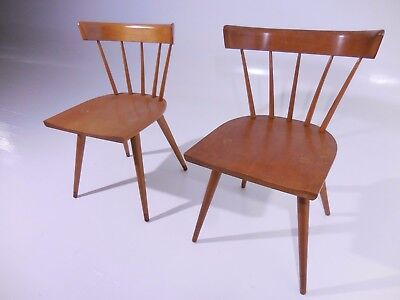 2 Classic Paul Mccobb Planner Group Chairs 50 S Mid Century