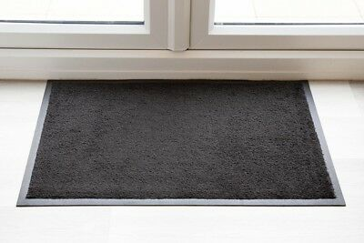 BEST Luxury Black Throw Down Entrance Mat UK QUALITY MADE