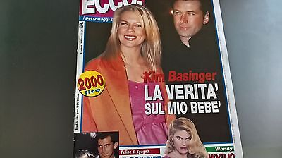Ecco! 11 1995 Kim Basinger Linda Evangelista Wendy Windham Take That Van Damme