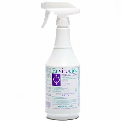Envirocide Surface Disinfectant Cleaner -24oz-Case of 10-  Exp 2017-11