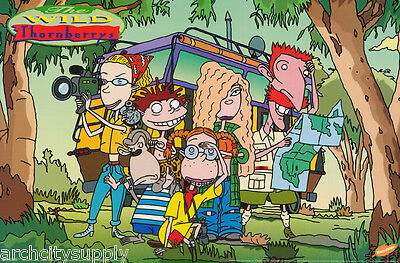 Lot Of 3 Posters :tv:animation:  Wild Thornberrys - Free Ship  #1824   Rap15 B