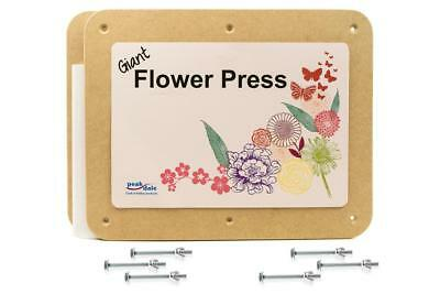 Flower Press Giant 372x287mm by peakdale products