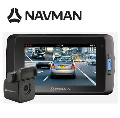 Navman MiVUE850 Full HD Dashcam with Duel Cameras & GPS Tracking + Free MicroSD