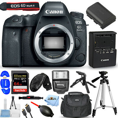 Canon EOS 6D Mark II DSLR Camera (Body Only)!! PRO BUNDLE BRAND NEW!!