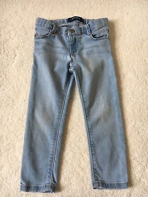 OLD NAVY TODDLER GIRLS SKINNY DENIM STRETCH JEANS SIZE 3T Play Condition