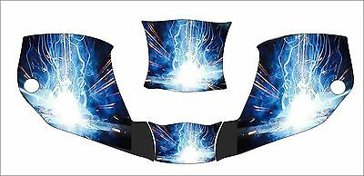 MILLER digital INFINITI 271329 WELDING HELMET WRAP DECAL STICKER INFINITY DRAGON