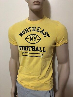 47dbc120 NWT Abercrombie & Fitch Men's Slim Muscle Fit Tee Round-Neck T-Shirt Moose