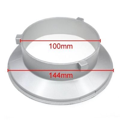 [US] 144mm Diameter Speedring Mounting Flange Ring Adapter Flash for Bowens