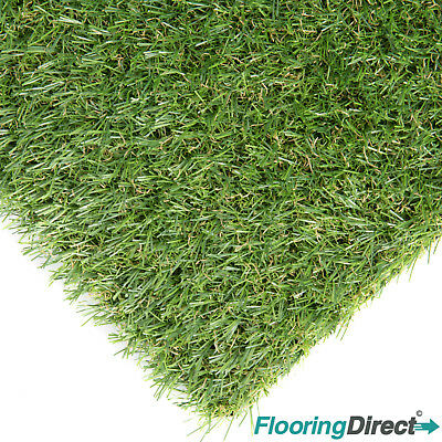 Artificial Grass Cromford 20mm Green Garden Realistic Fake Lawn Astro Turf CHEAP