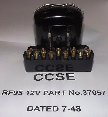 Genuine Lucas Rf95 12V 37057 Date 7-48 Fully Reconditioned By Us