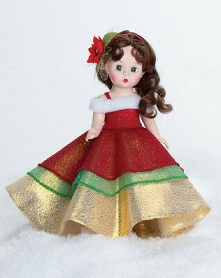 Madame Alexander Collectible Christmas 8″ Toy Doll – Happy Holidazzle 72920