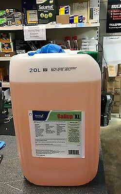20L Barclay Gallup XL 360g/l Glyphosate WEEDKILLER ROUNDUP + FREE GLOVES