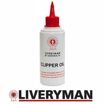 Liveryman Clipper Oil 250ml (for Horse/Cattle Clippers) + FREE GLOVES