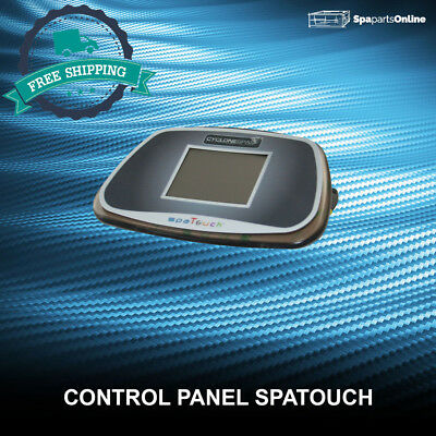 spaTouch Control Panel With Overlay