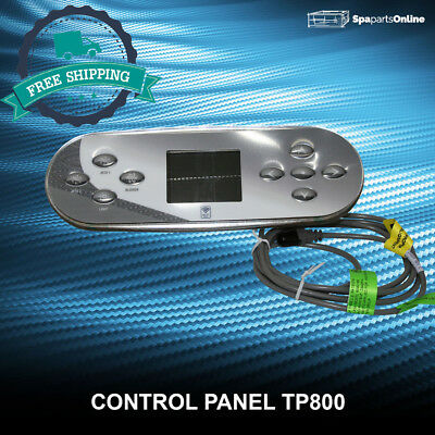 Control Panel with Overlay TP800