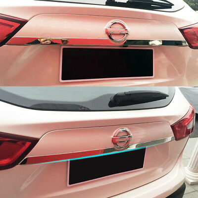 For 2017 - Nissan Rogue Sport Chrome Rear Trunk Tail Gate Door Handle Cover Trim